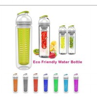 Tritan Water Bottle Gen 3 With Fruit Infuser BPA Free