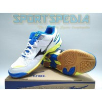 MIZUNO INDOOR, BADMINTON, VOLLY, RUNNING WAVE TWISTER 4 White Original #V1GA157008
