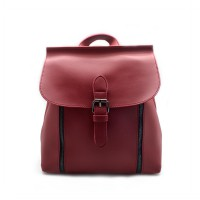 London Berry by HUER - Kenny 3 Ways Backpack Red