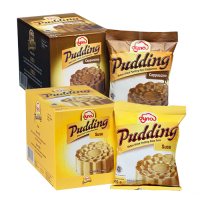 Dyna Pudding Cappuccino&Susu 110gr x 10 bungkus
