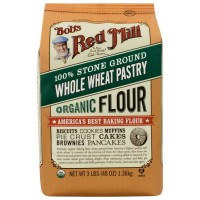Bob's Red Mill Whole Wheat Pastry Organic 1,36 Kg