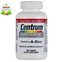 CENTRUM ADVANCE FOR ADULTS 200 TABLETS