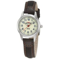 [poledit] Timex Women`s T41181 Expedition Silver-Tone Watch with Leather and Nylon Band (R/11627080