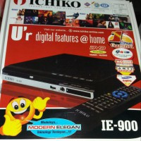 Dvd Video Player Ichiko Ie-900 Mini Pemutar Dvd Kaset Bandel
