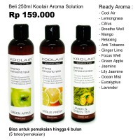 [KOOLAIR]Minyak Aromaterapi Water Based Aroma Solution 250ml
