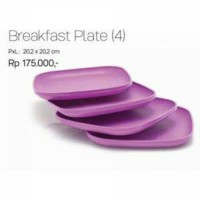 BREAKFAST PLATE/LUNCHEON PLATE (4)