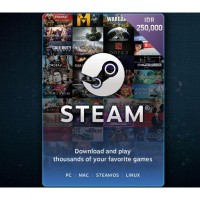 Steam Wallet Code IDR 250.000