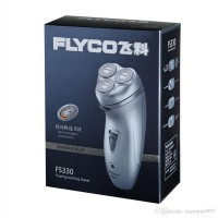 FLYCO FS330 Rechargeable Shaver Three Head - with Trimmer / Pencukur Kumis - Jenggot