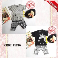 [25216][BEST SELLER] Stelan Bayi / Baju Bayi Little Gentleman Zebra