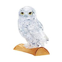 [poledit] Beverly 42 piece Crystal puzzle Owl Clear 3D puzzle (T1)/12075660
