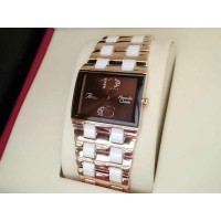 Alexandre Christie Ac 2182 Rose Gold Brown For Ladies