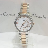 Alexandre Christie AC 2531 Silver Rose Gold for Ladies