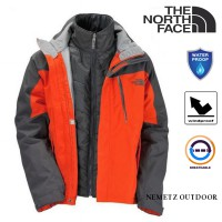 Jaket Gunung The North Face (Tnf) Men's Headwall Triclimate Ski Jacket [Limited]