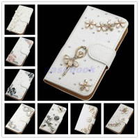 [globalbuy] For BlackBerry Leap NEW fashion Crystal Bow Bling Tower 3D Diamond Glitter Wal/3008007