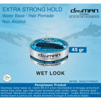 Dayman Hair Pomade - Extra Strong Hold 45 Gr