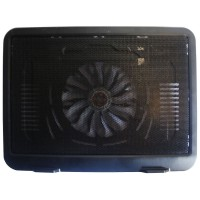 SQ One Cooling Pad Notebook N19 Single Fan – Hitam