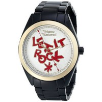 [poledit] Vivienne Westwood Women`s VV072GDBK St. Paul`s Analog Display Swiss Quartz Black/12792765