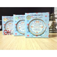 100% ORIGINAL CUPCAKE UNDERARM BERHOLOGRAM (NIGHT CREAM)