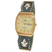 [macyskorea] Coleman Champagne Dial Analog Day/Date Display Mens Masonic Watch 9-WB160/12308486
