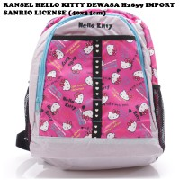 Ransel Hello Kitty Dewasa H2859 Import Sanrio License