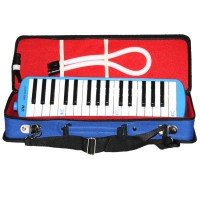 Spesial Pianika HD - Tas box Exlusive - Biru