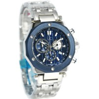 GC Guess Collection Jam Tangan Pria Silver Stainless Steel X72027G7S