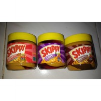 Skippy Peanut Butter with Chocolate Strawberry Grape Stripe