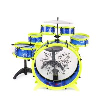 Drum Anak - Drum Set Mainan Anak Big Band - Big Band Let's Rock'n Roll Drum Play Set - Mainan Anak