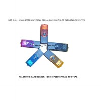 CARD READER ALL IN ONE / HIGH-SPEED SPREAD TO STEAL / MULTISLOT CARDREADER/WRITER