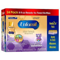 [poledit] Enfamil Gentlease Infant Formula Milk-Based with Iron, Ready to Feed, 24 Count (/12172372