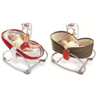 [Tiny love] Baby rocker napper / baby bed / red / brown / baby bed