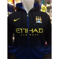 Jaket Hoodie Bola Manchester City H-731 The Citizens Liga Inggris
