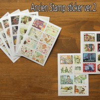 Like The Daily Ancien Stamp sticker ver.2- Stamps Stickers