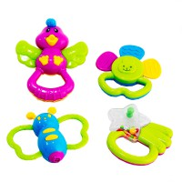 Baby rattle play set 4 pcs 3 months + SNI