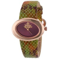 [poledit] Vivienne Westwood Women`s VV014RS Ellipse Swiss Quartz Rose Gold Bezel Watch (R1/13244961