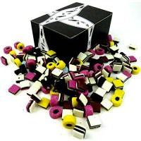[poledit] Black Tie Mercantile Licorice Allsorts by Cuckoo Luckoo Confections, 3 lb Bag in/14118429