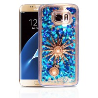 Case Quicksand Water Glitter for iPhone & Samsung