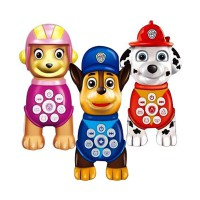 PAW PATROL MACHINE WITH RECORDER - CHASE / EVEREST / MARSHALL / SKYE