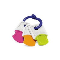 Mainan Bayi CHICCO SOFT KEY RATTLE