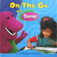 Buku Anak On The Go with Barney BLUE - A Collection of Stories includes 5 stories