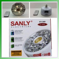Fitting Emergency E27 Sanly Sy-309 23 Smd Putih