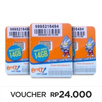 Perdana Bolt 2gb aktif Fresh