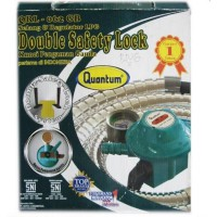 Quantum QRL-062GB Selang & Regulator Double Safety Lock
