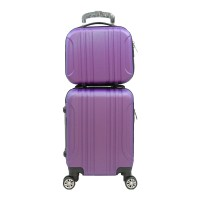 Tas Koper Polo Maple B11 Violet 16' & 12' Beauty Case