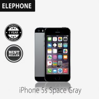 Apple iPhone 5S 32 GB Gray Smartphone {factory certified refurbish grade A+} + FREE SOFTCASE