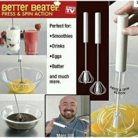 Better Beater as Seen TV 1 kecil &1 besar mini mixer coffee frother