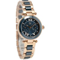 GC Guess Collection Jam Tangan Wanita Rosegold Stainless Steel Y06009L7