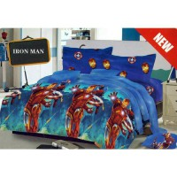 Iron Man - Bedcover Kintakun - 120 cm - D'LUXE / KIDS EDITION D'LUXE BED COVER KIDS
