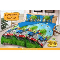 Thomas Train - Bedcover Kintakun - 120 cm - D'LUXE / D'LUXE KIDS NEW EDITION BED COVER