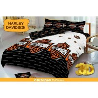 Harley Davidson - Bedcover Kintakun - 180 cm - D'LUXE / D'LUXE KIDS NEW EDITION BED COVER